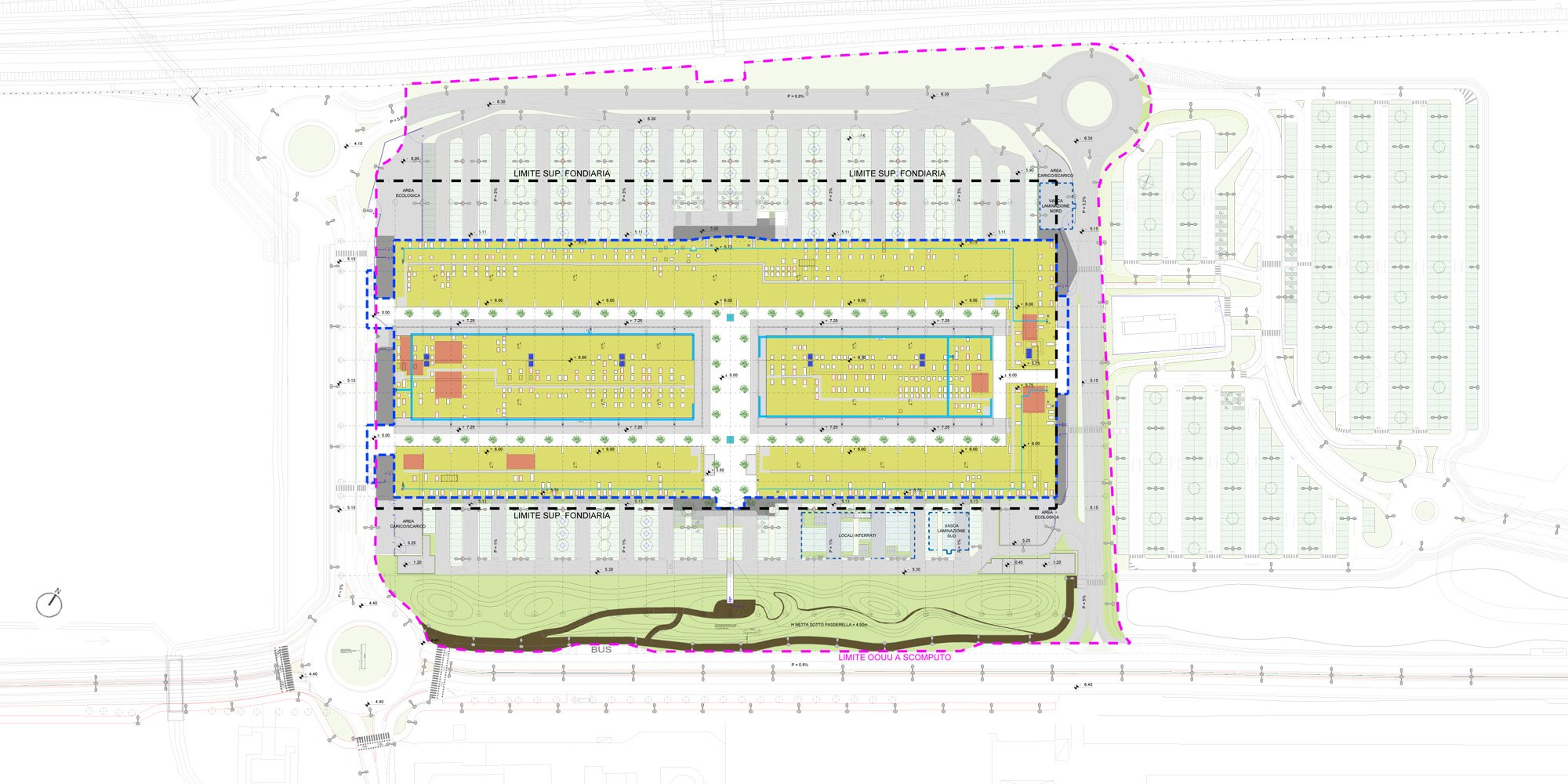 Site plan © Claudio Silvestrin Architects