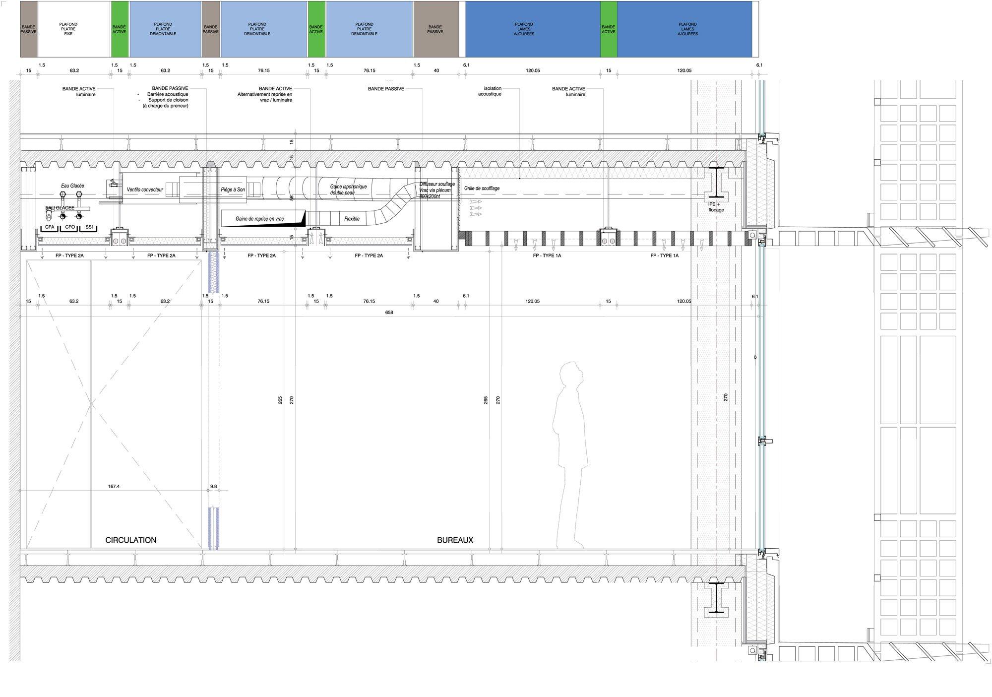 Façade detail © Ateliers Jean Nouvel, Constructa