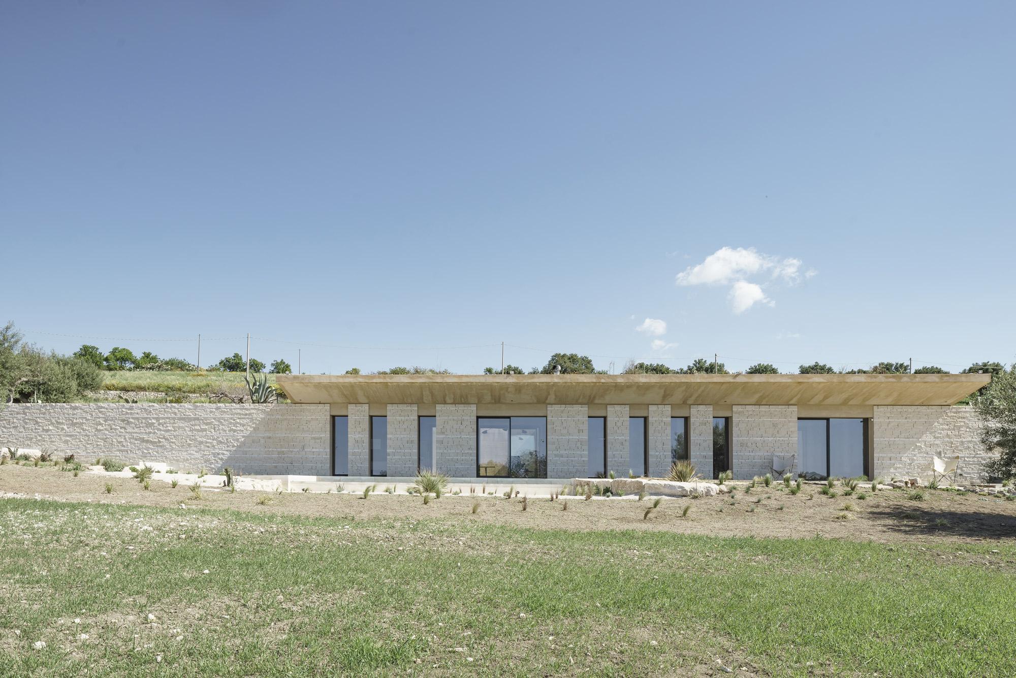 CASA ECS, Studio Giuseppe Gurrieri © Emanuela Minaldi