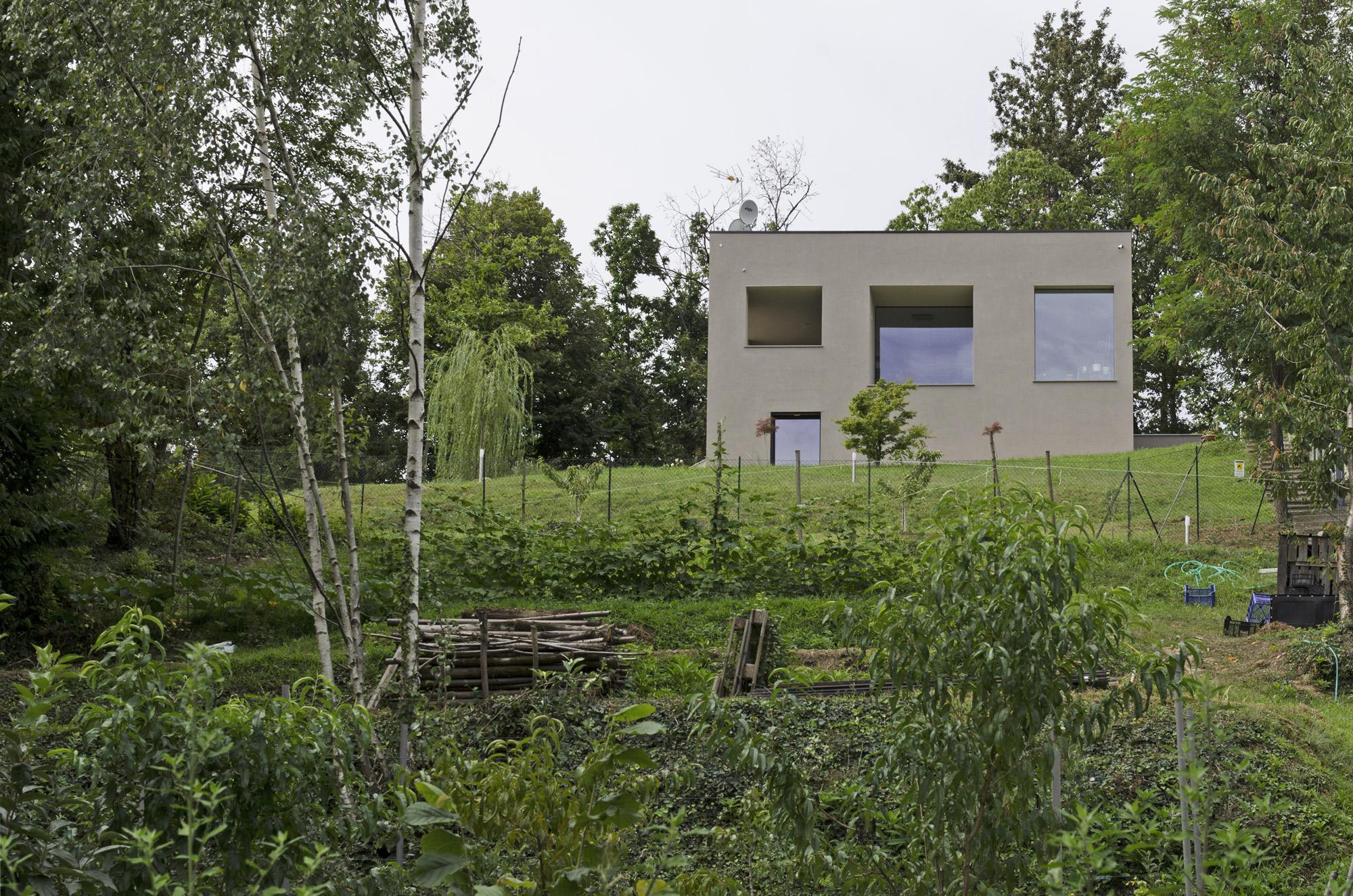 Villa a Reano (TO), Archisbang Associati © Alessio Gioana