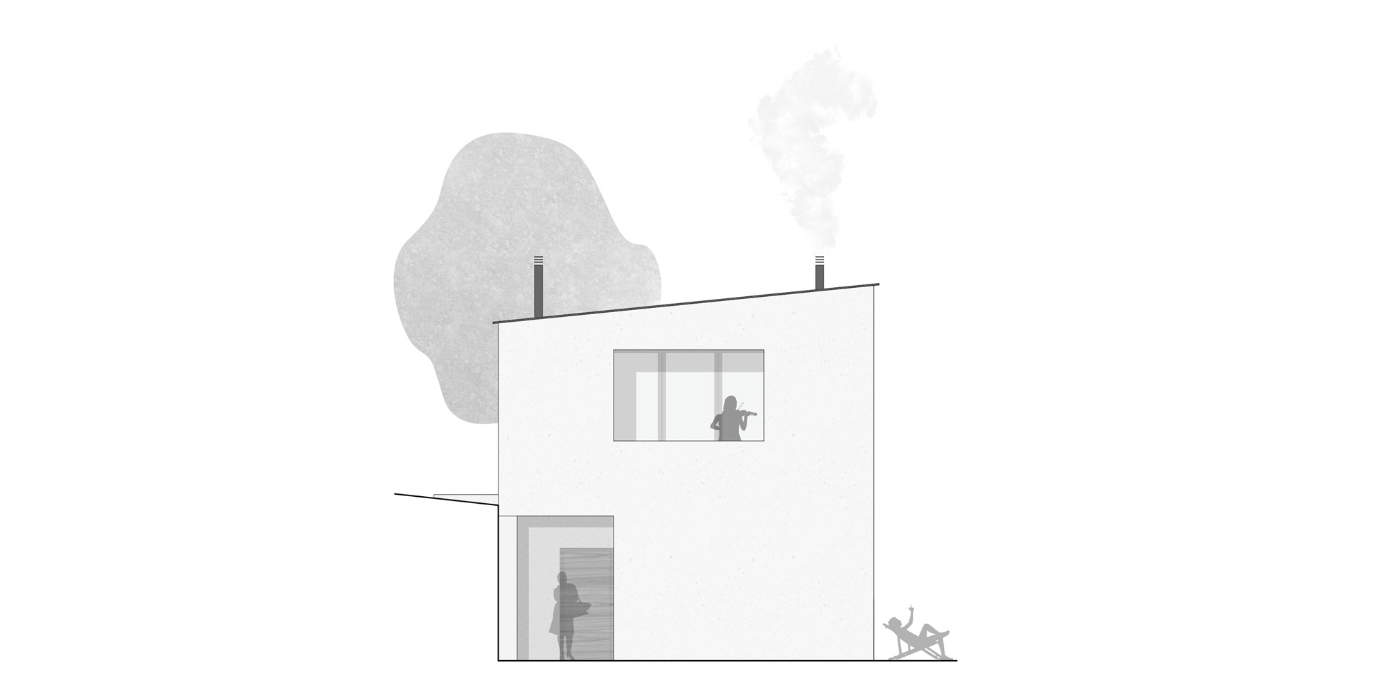 East Elevation © Archisbang Associati