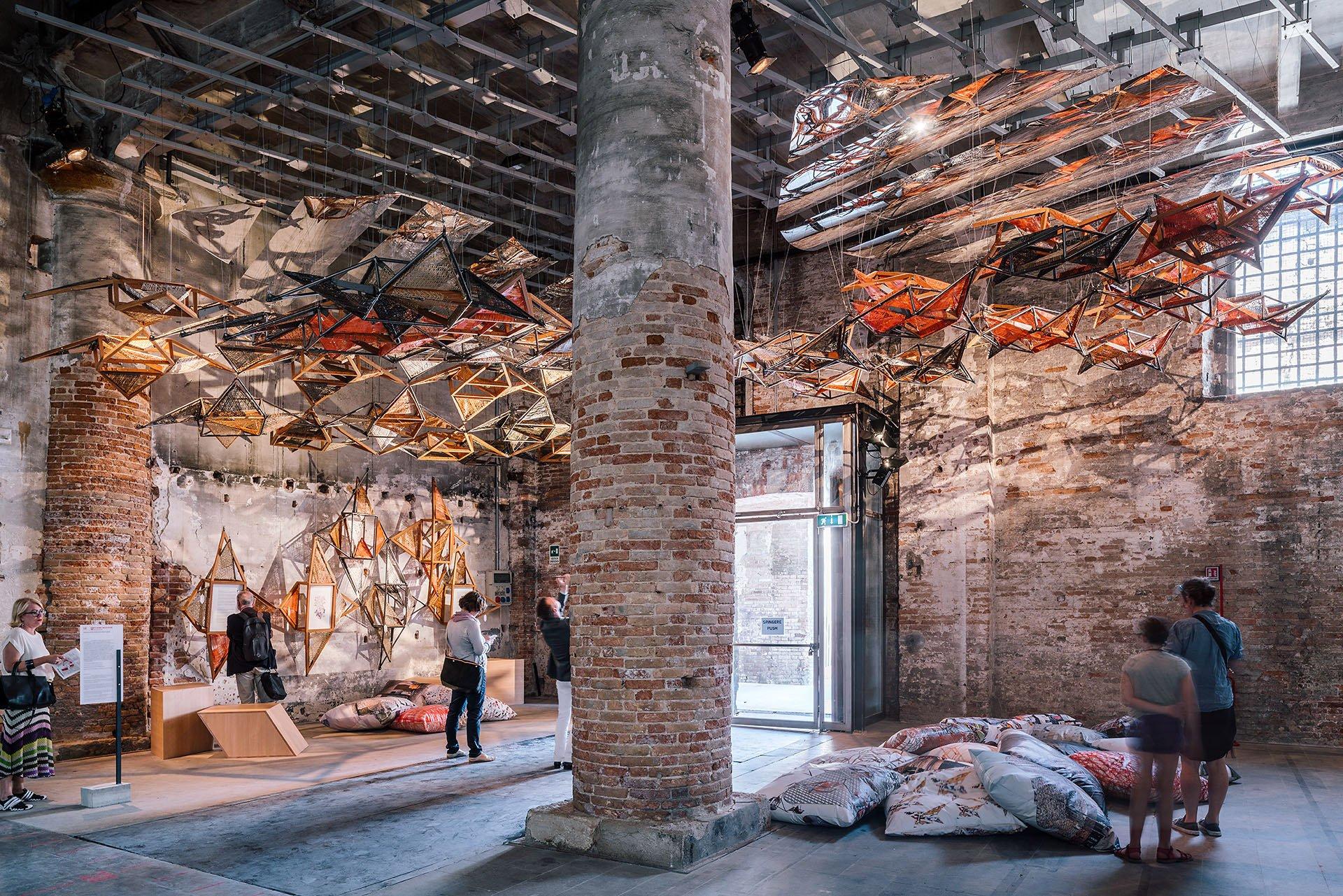 Weaving Architecture © Giovanni Nardi