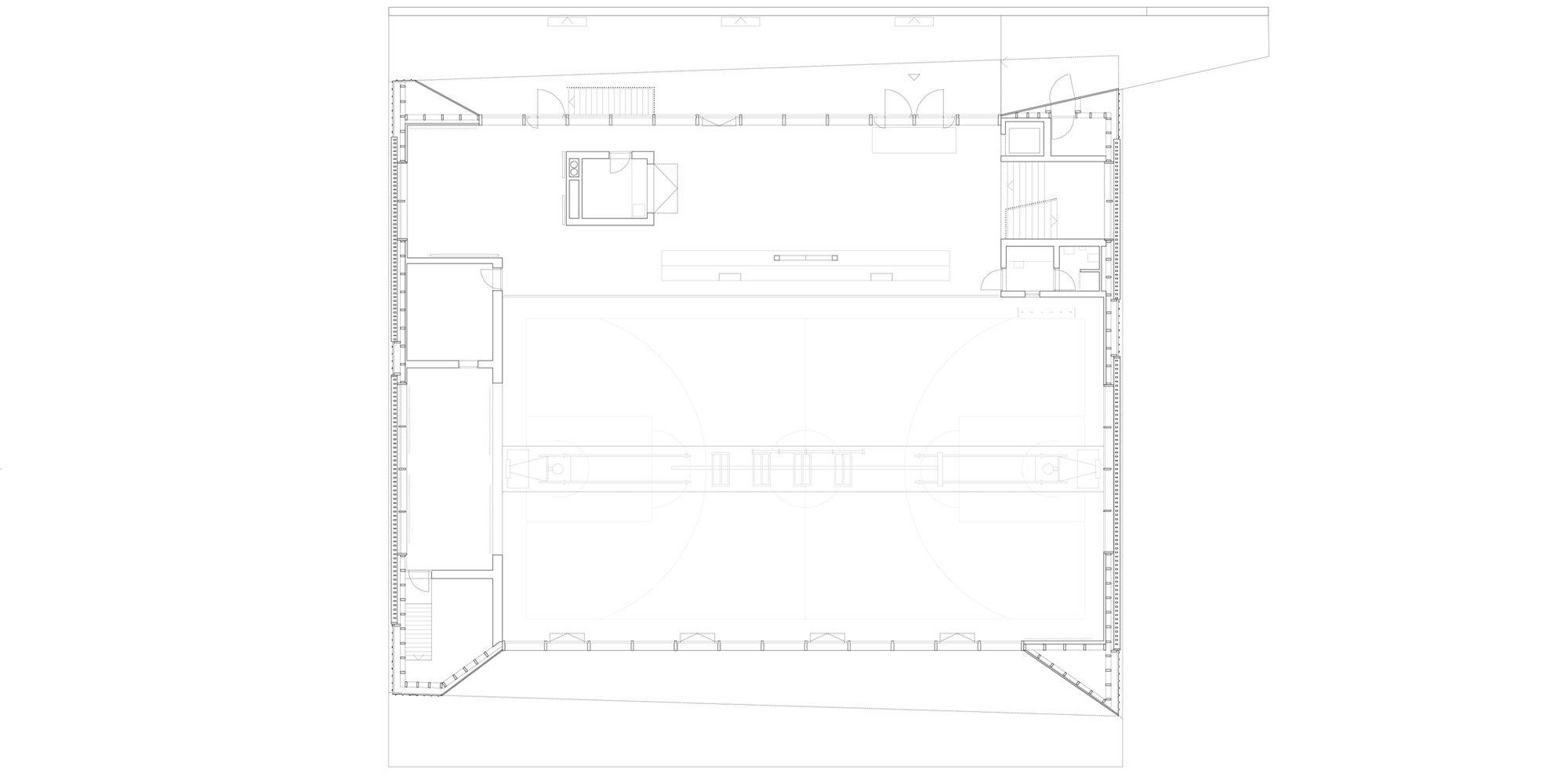 Pianta Piano Terra © Localarchitecture