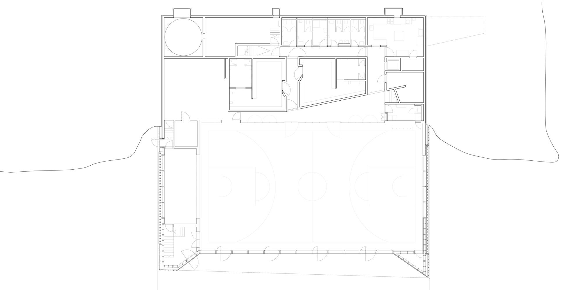 Pianta Piano Primo © Localarchitecture