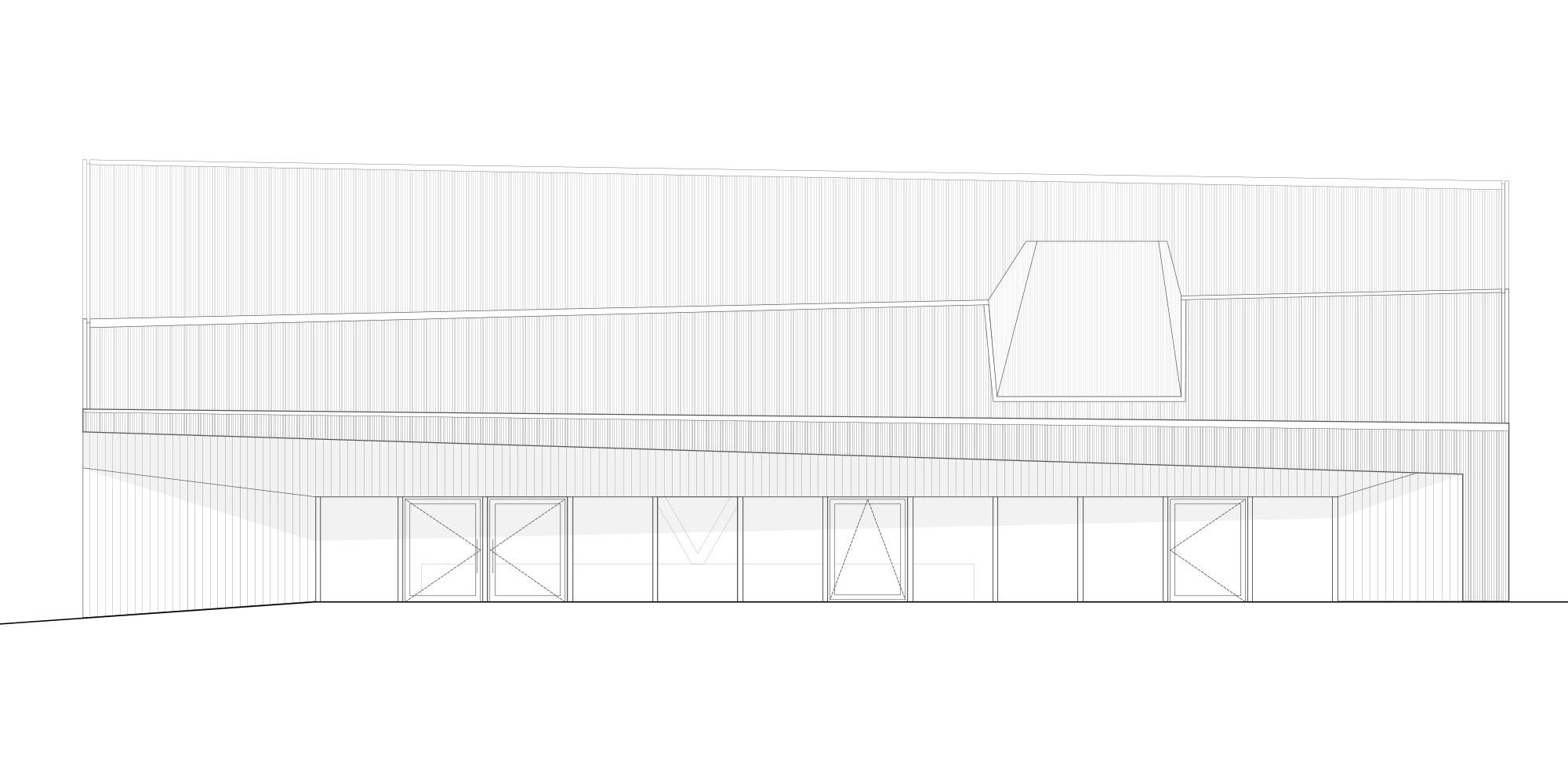 Prospetto nord © Localarchitecture
