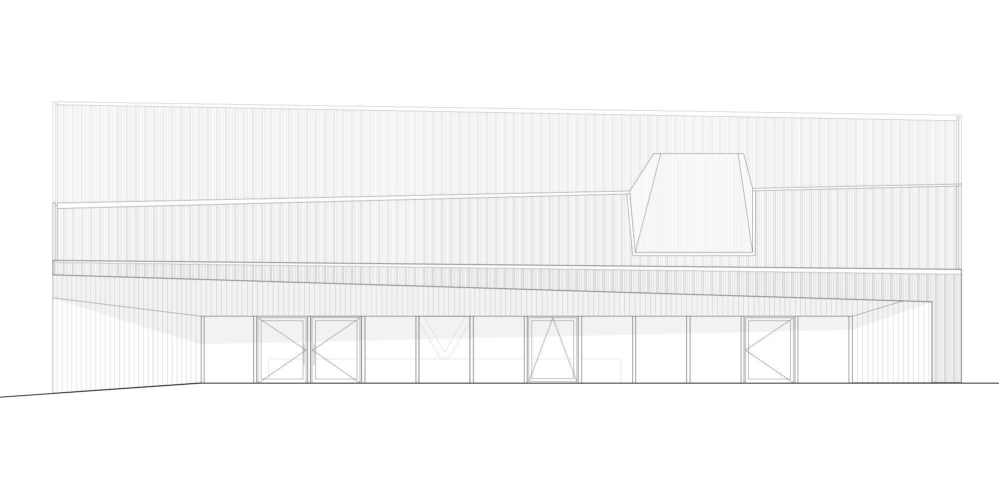North Elevation © Localarchitecture