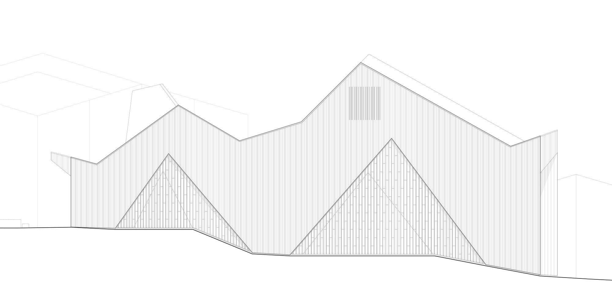 West Elevation © Localarchitecture