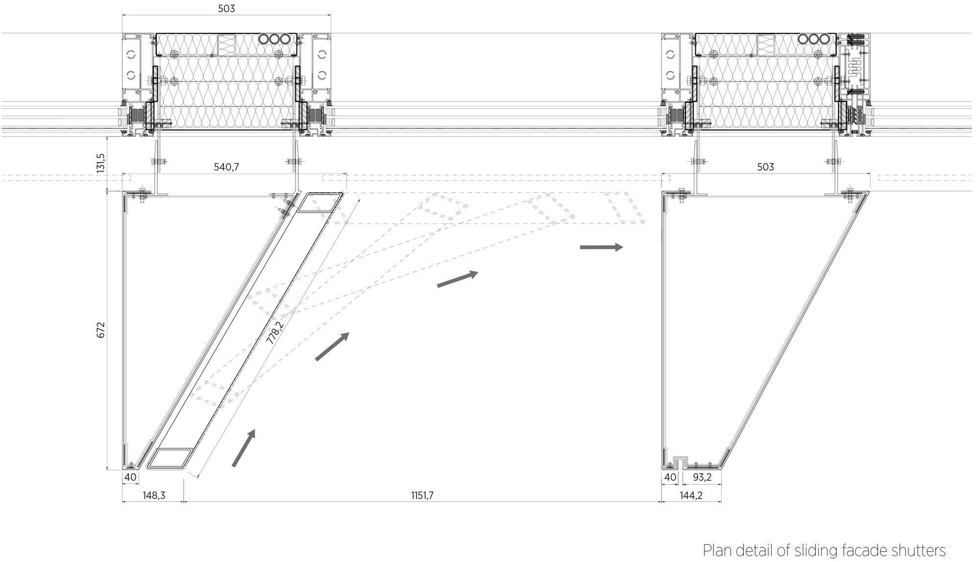 Dettaglio B © C.F. Møller Architects
