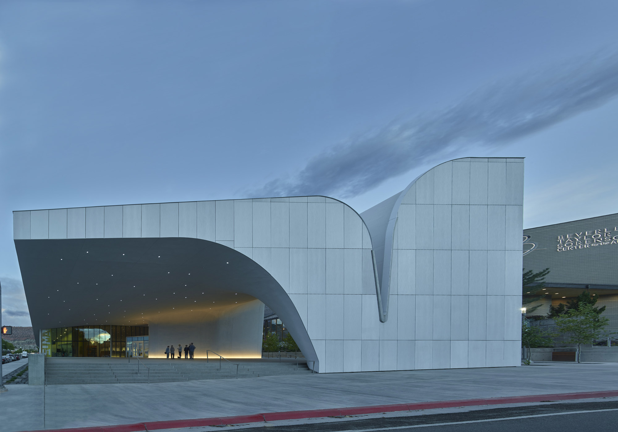 Southern Utah Museum of Art (SUMA) © Tim Hursley