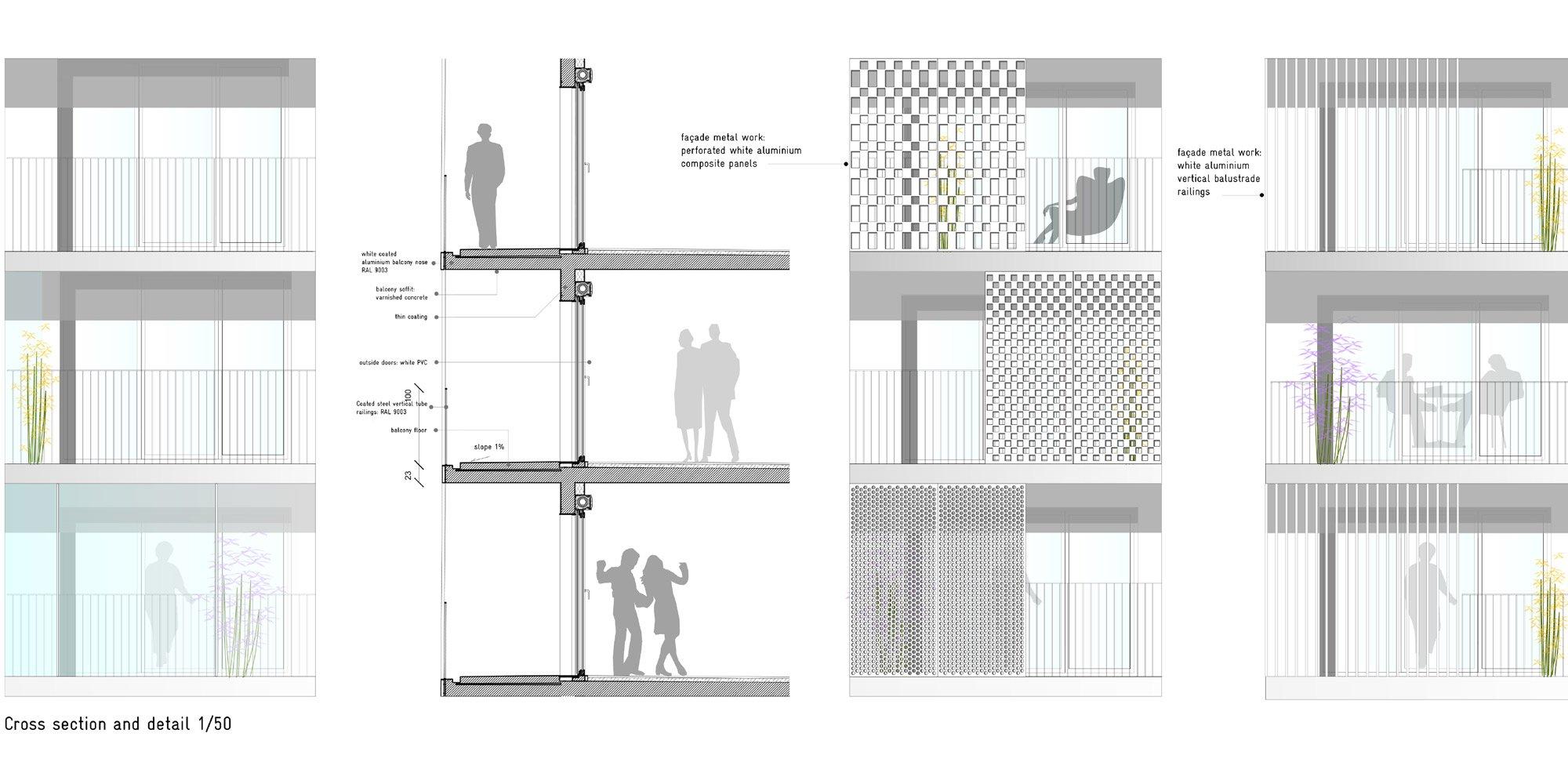 Dettaglio costruttivo © Hamonic + Masson & Associés
