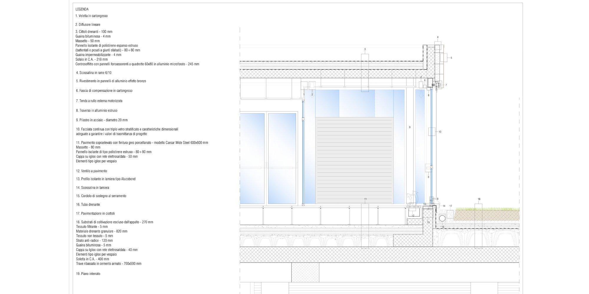 Dettaglio A © Studio AS Architetti Associati