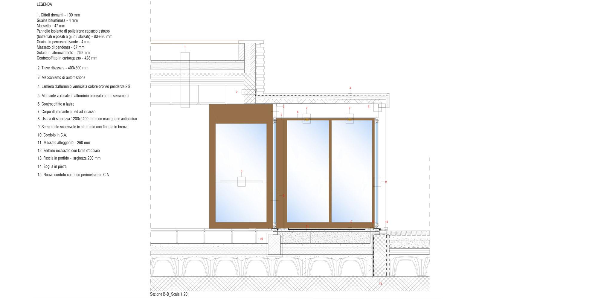 Dettaglio B © Studio AS Architetti Associati