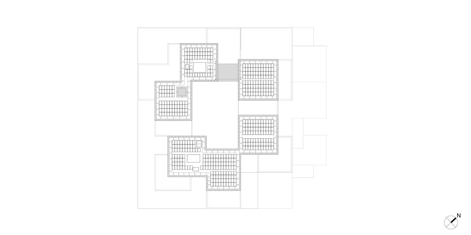 Sixth Floor Plan © OMA