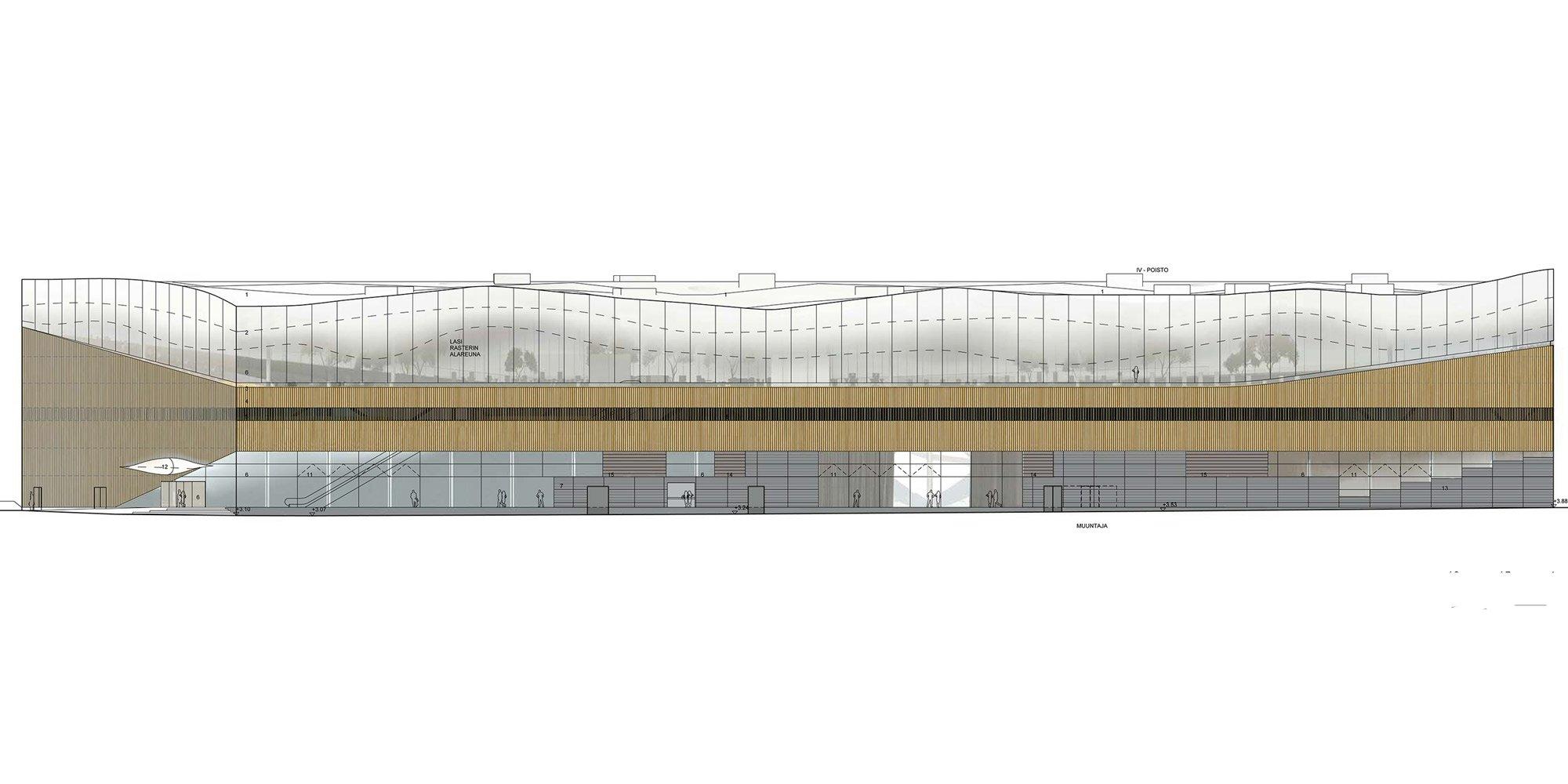 East Elevation © Ala Architects