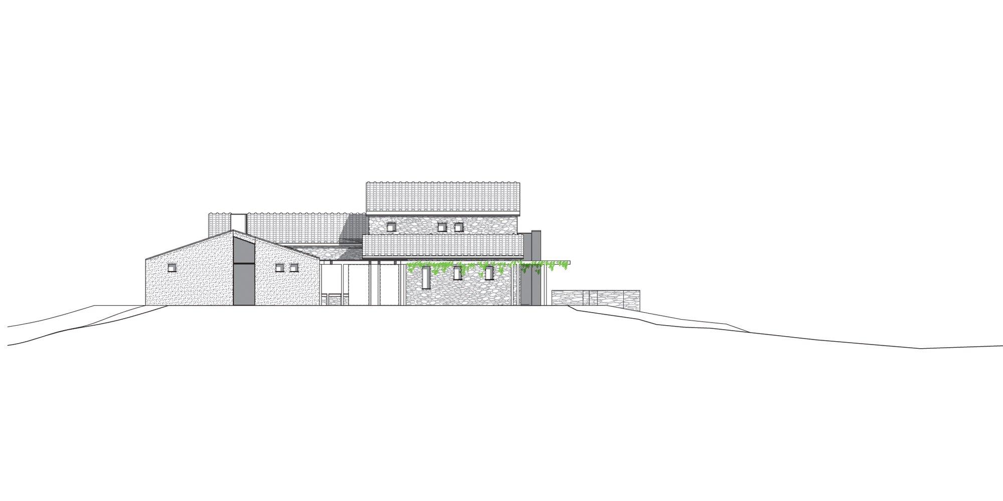 North Elevation © Susanna Nobili Architettura