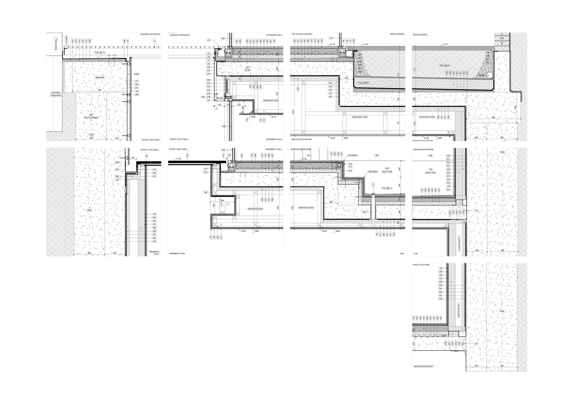 Dettaglio E © Gianni Botsford Architects