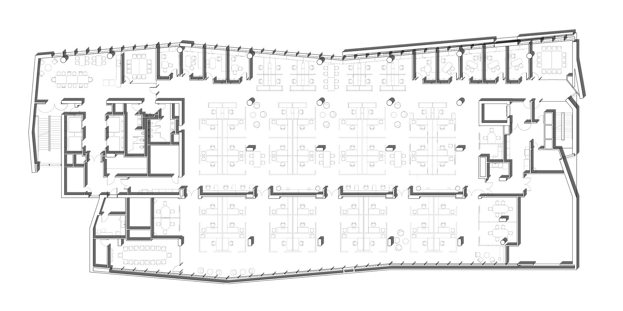 9th level plan © CO Architects