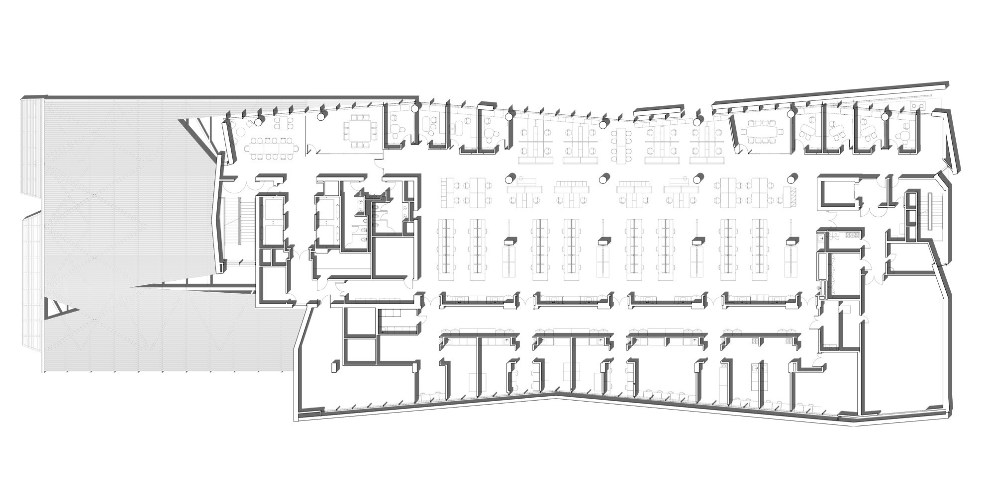 5th level plan © CO Architects