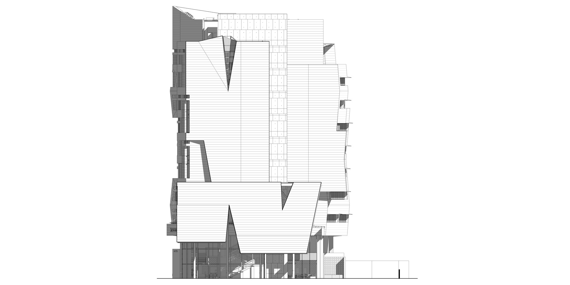 West elevation © CO Architects