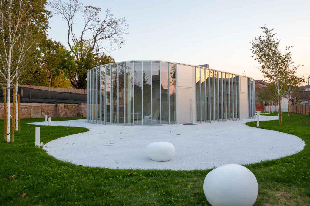 Centro ricreativo a Quistello, Mantova Courtesy MC A