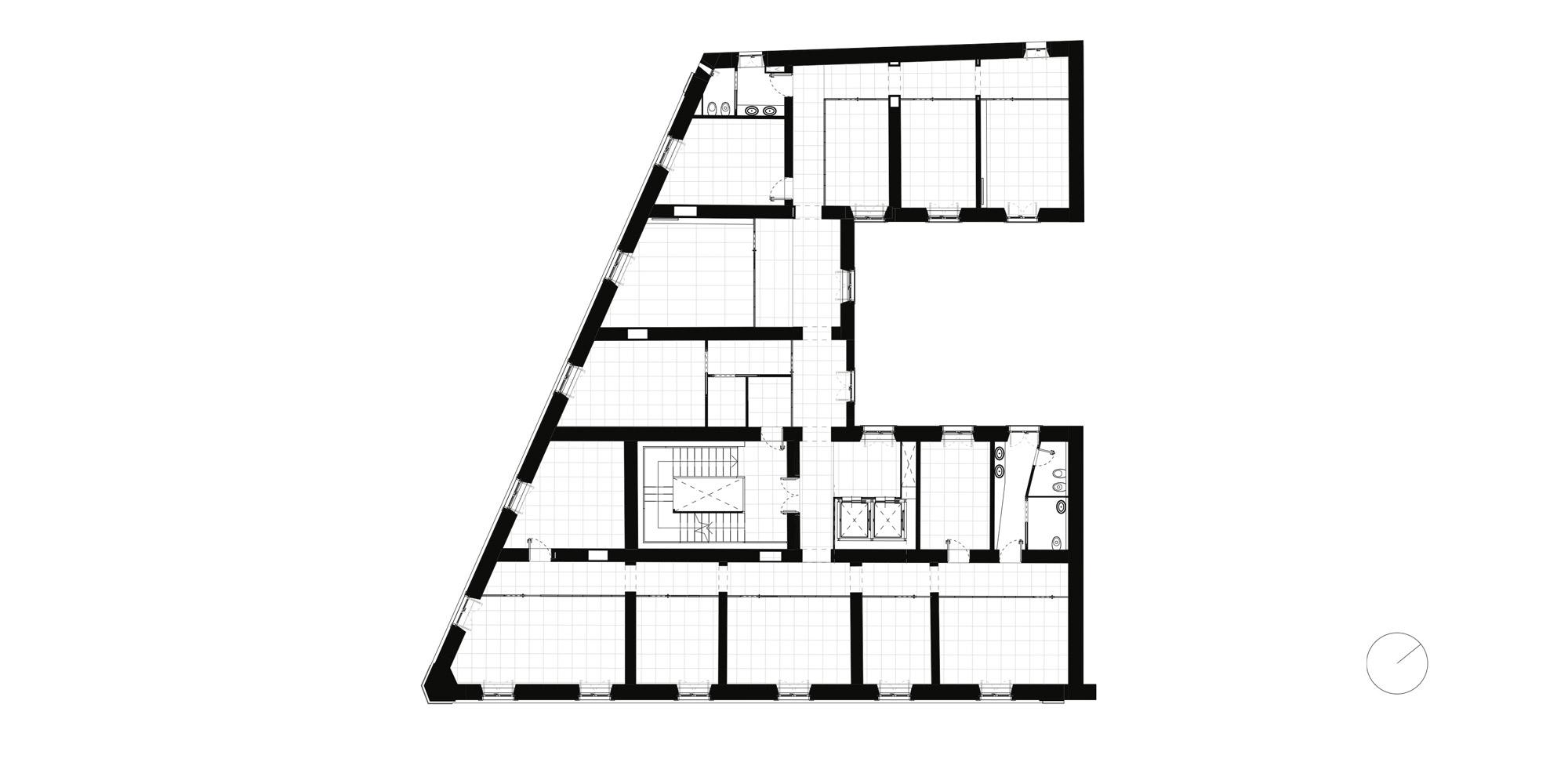 Typical floor plan © It's