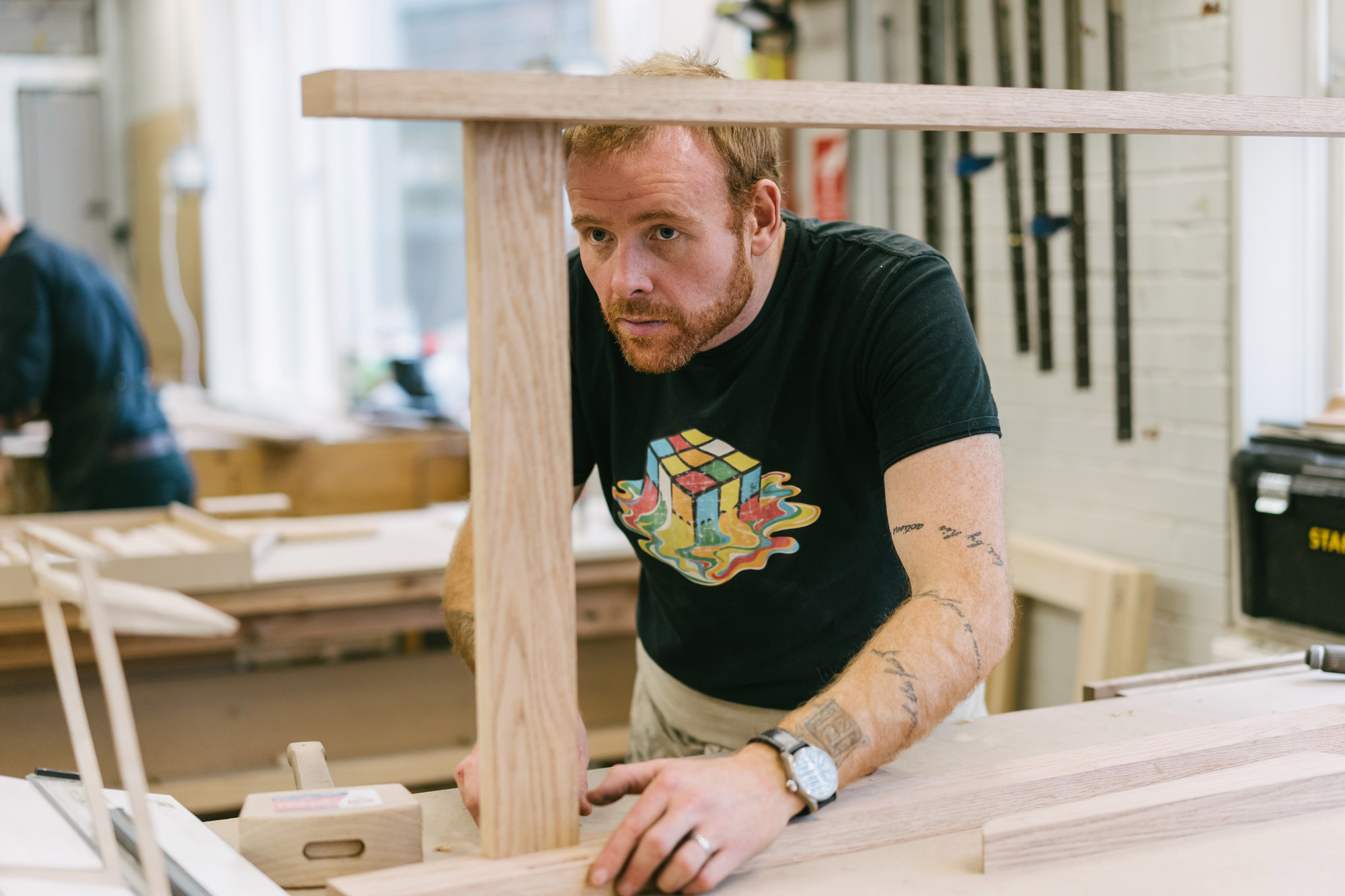 Standing desk, Matthew Dawson Courtesy AHEC