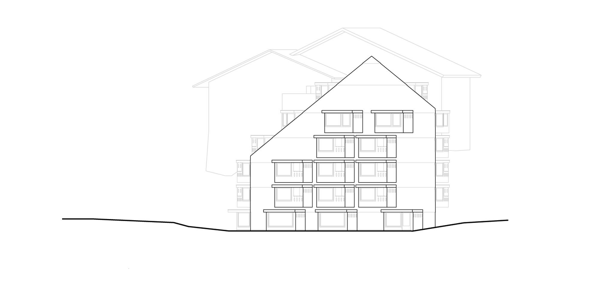 Prospetto est © Pedevilla Architects