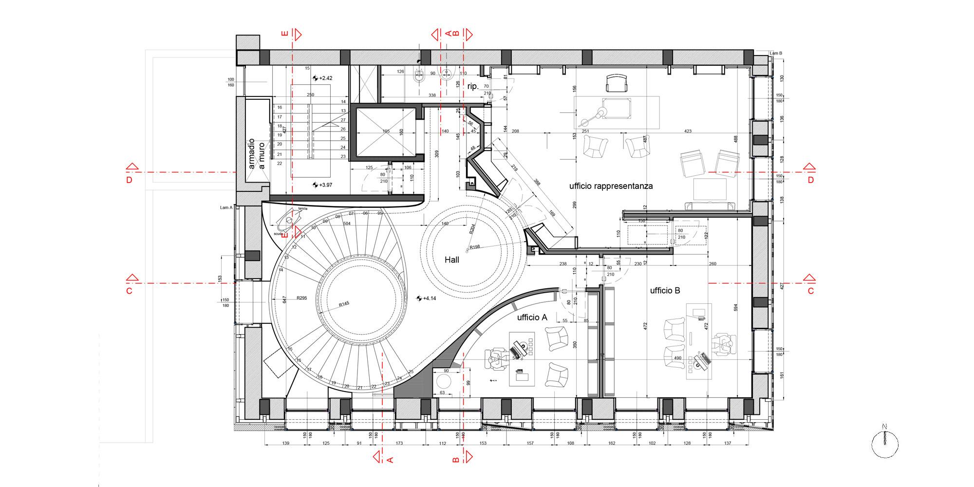 First floor plan © MYGG