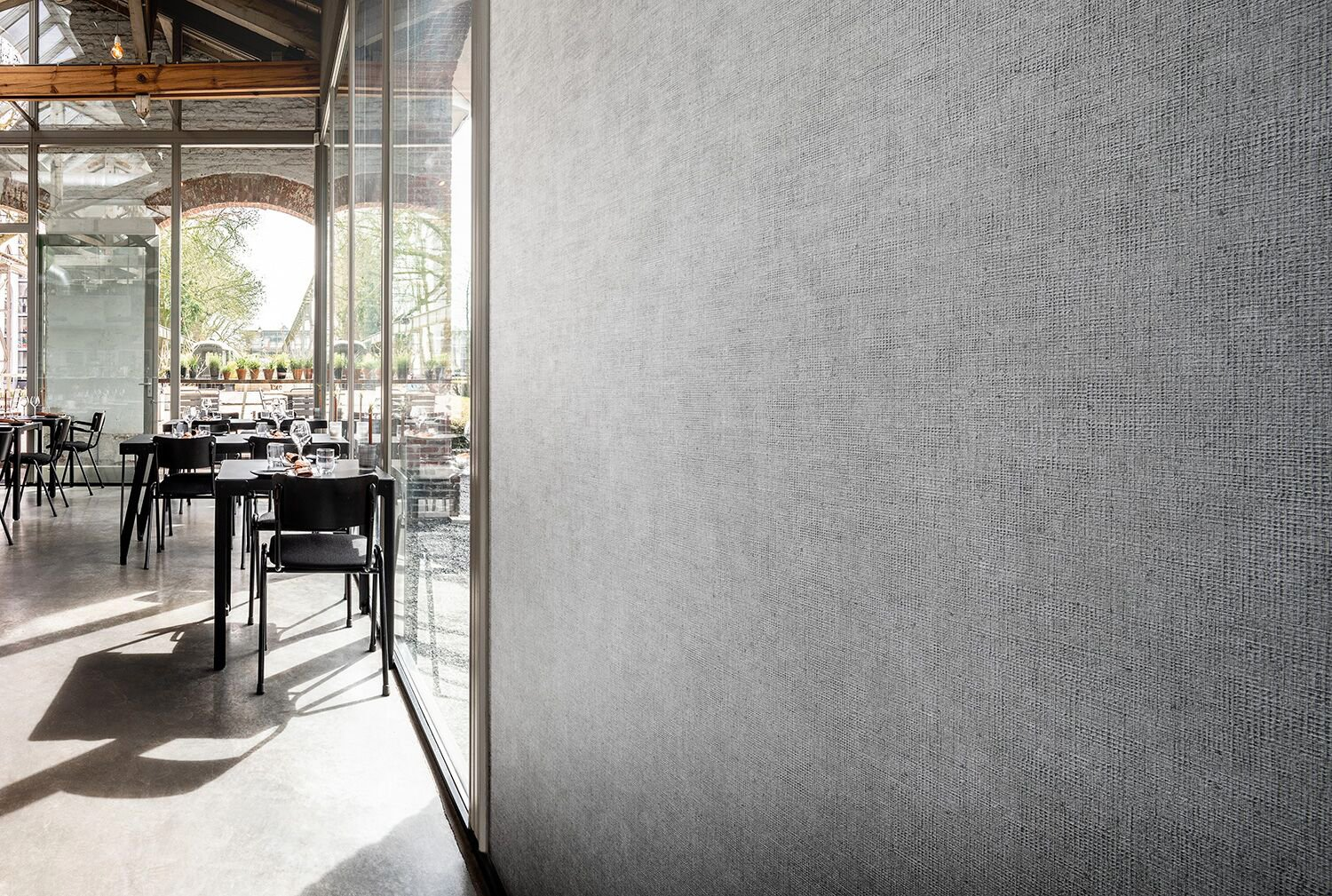 Four new designs vinyl wallcovering