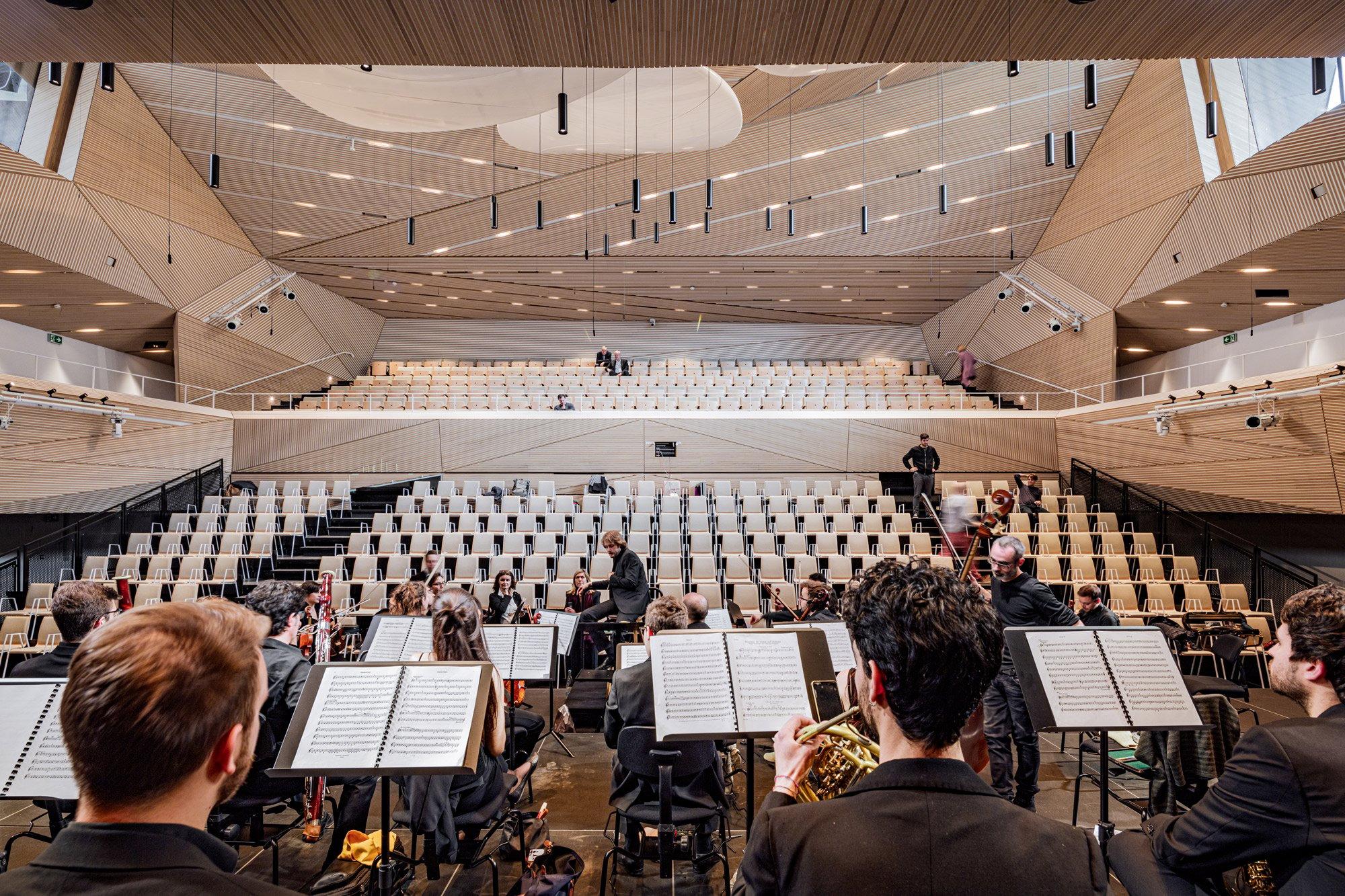 Auditorium di Andermatt © Kanipak Photography
