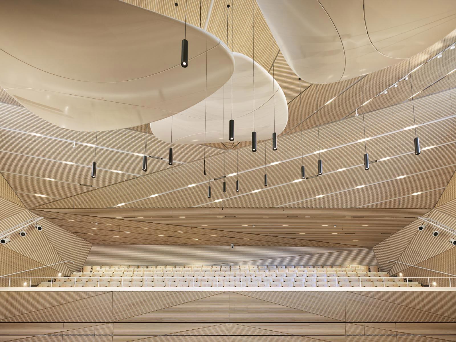 Auditorium di Andermatt © Roland Halbe