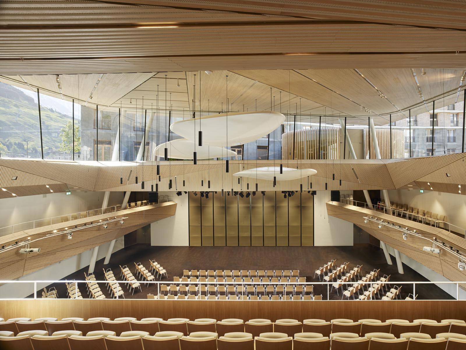 Andermatt Concert Hall © Roland Halbe