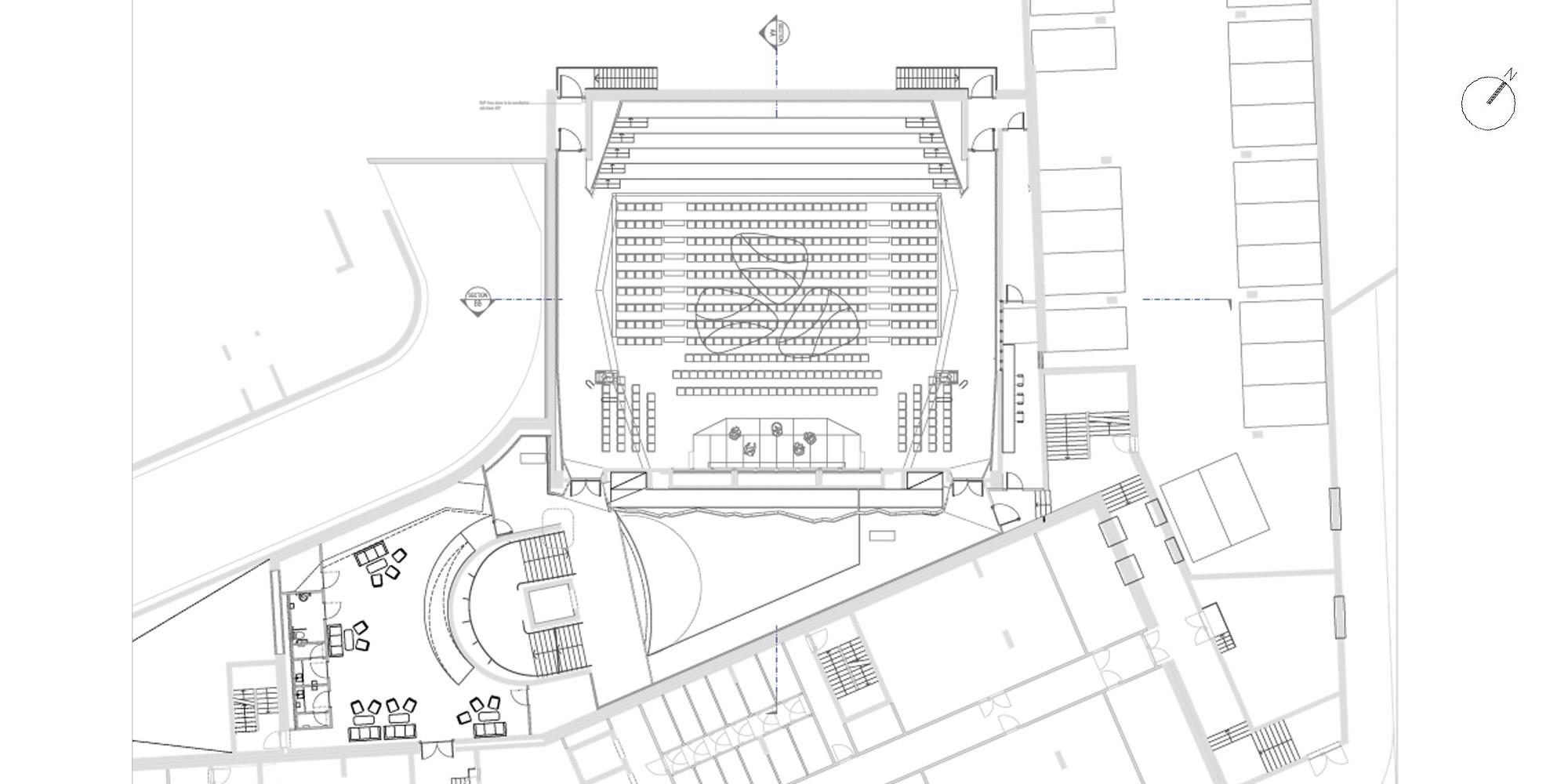 Basement floor plan © Studio Seilern Architects