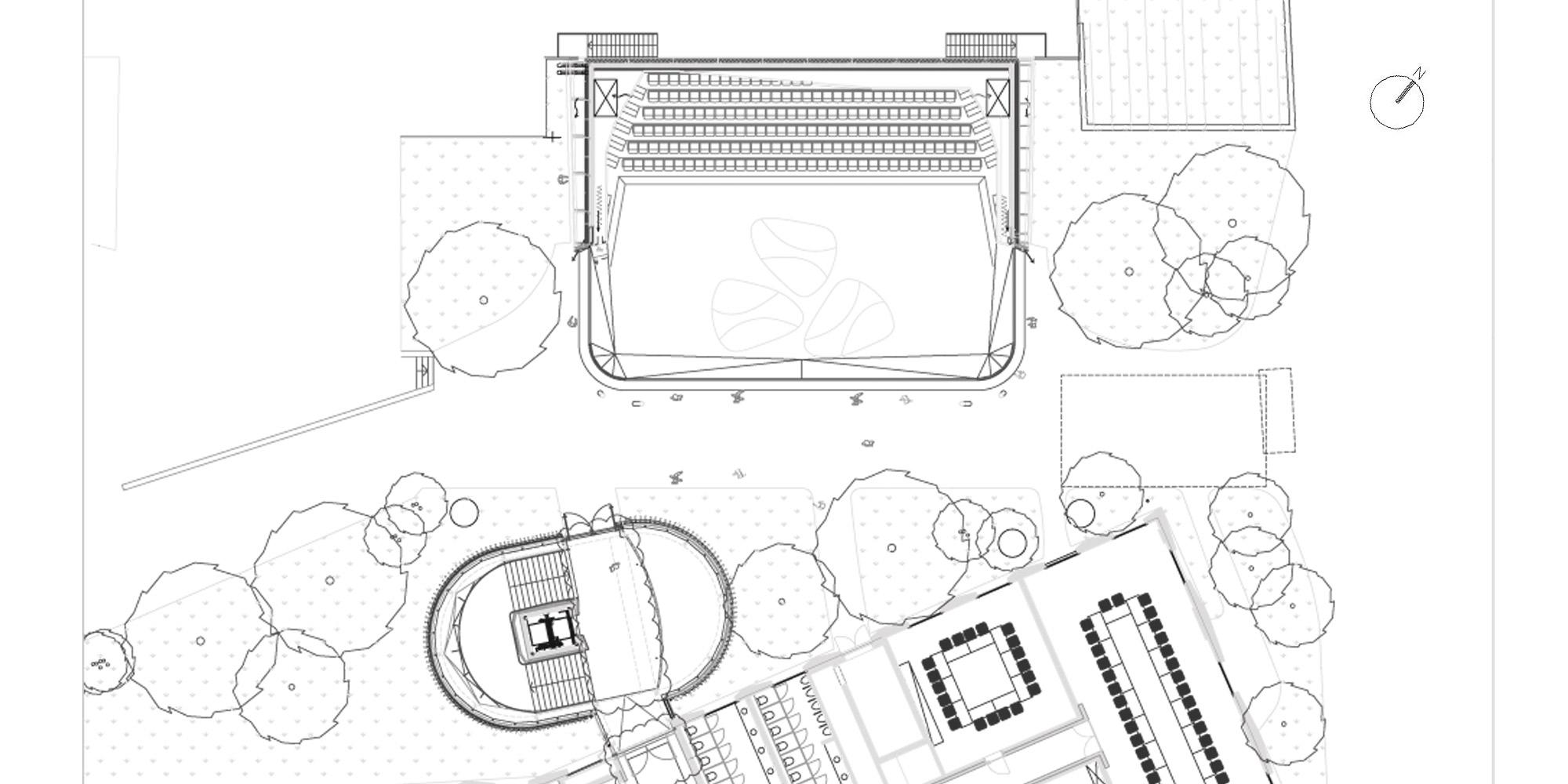 Pianta piano terra © Studio Seilern Architects