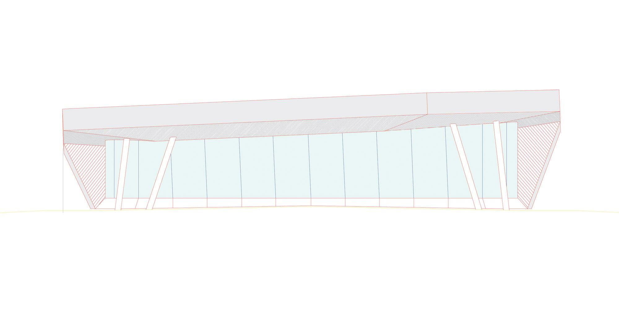 Prospetto sud © Studio Seilern Architects