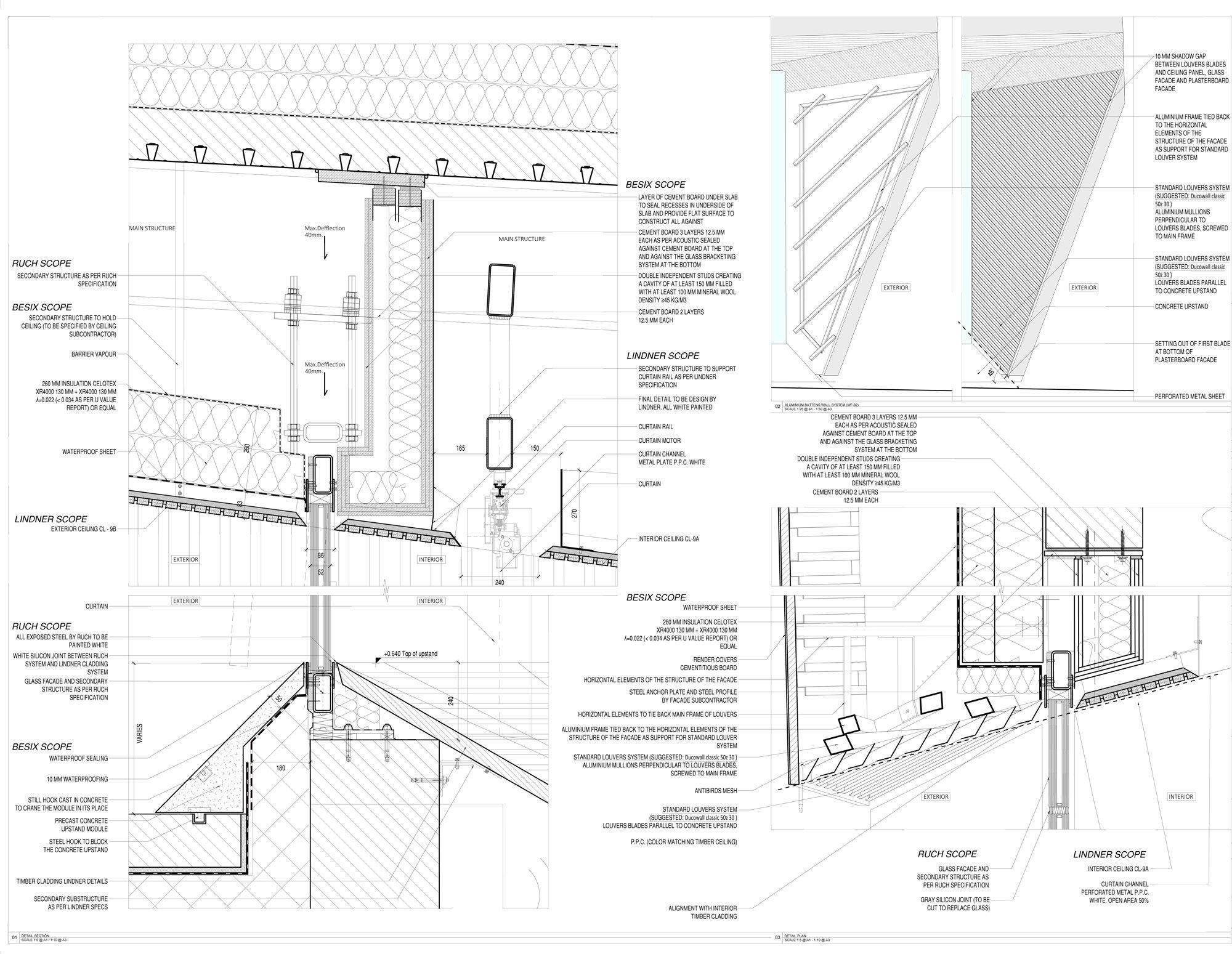 Dettaglio A © Studio Seilern Architects