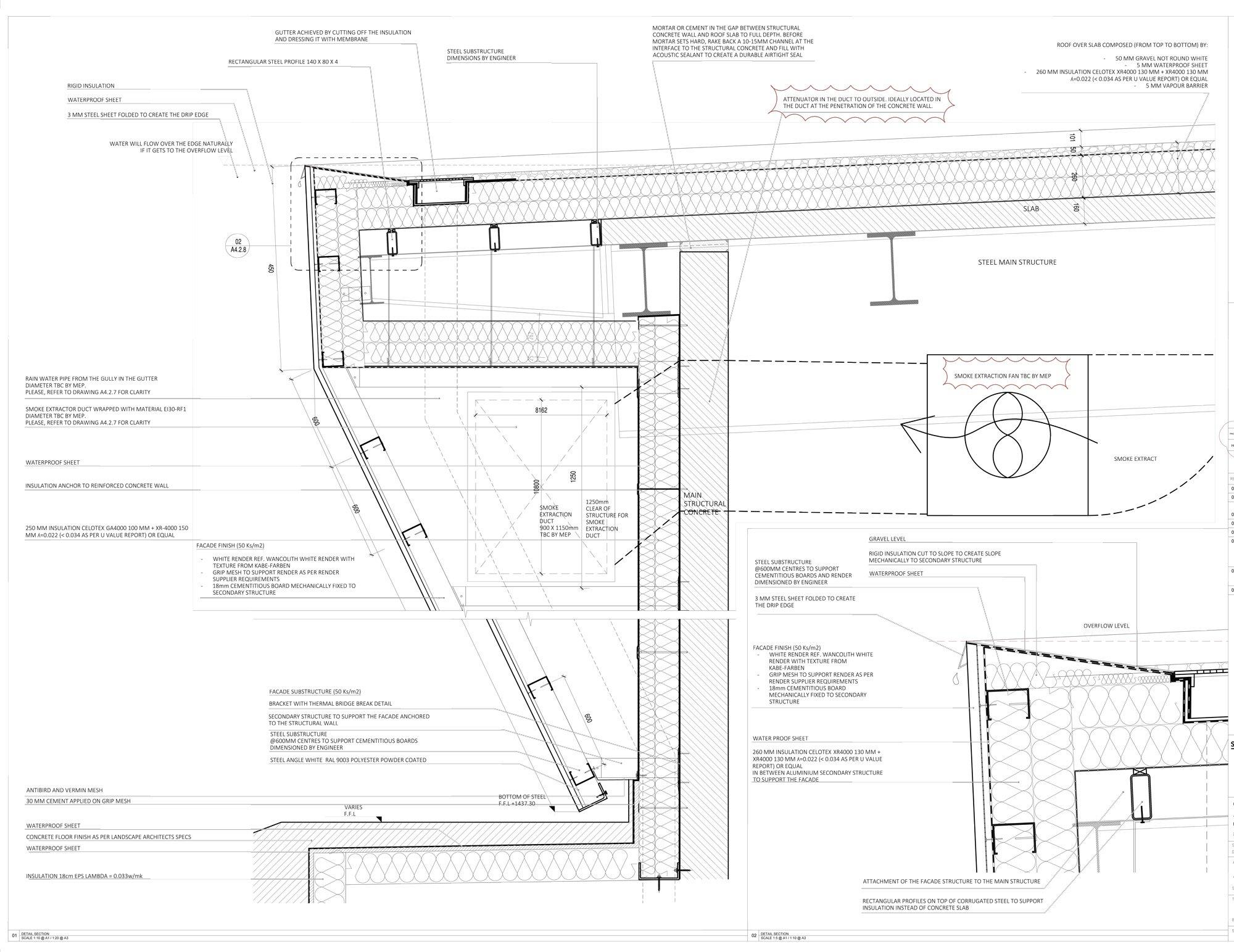 Dettaglio B © Studio Seilern Architects