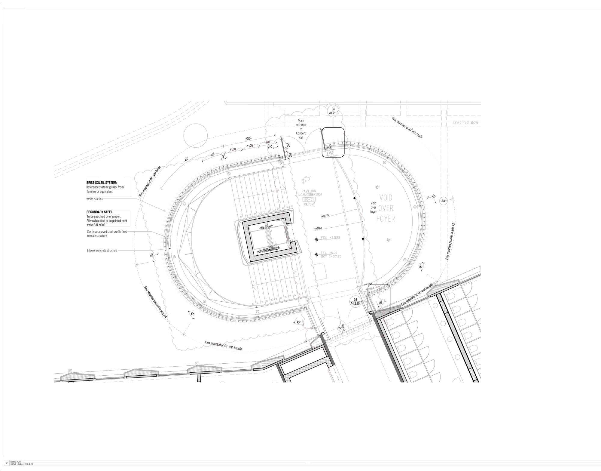 Dettaglio C © Studio Seilern Architects