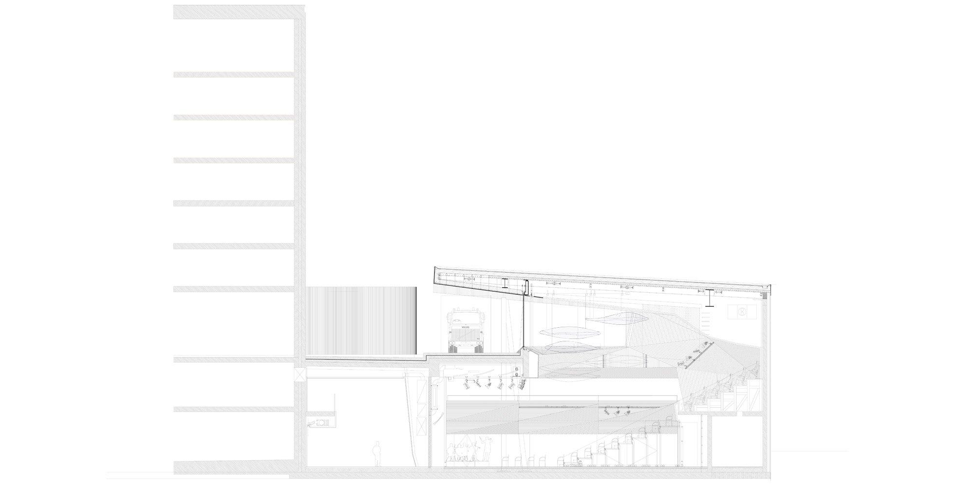Sezione AA © Studio Seilern Architects