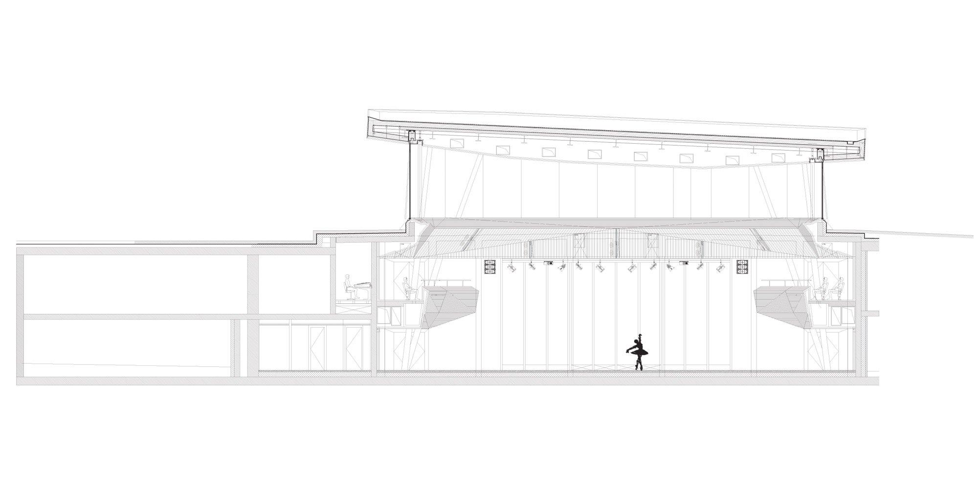 Sezione BB © Studio Seilern Architects