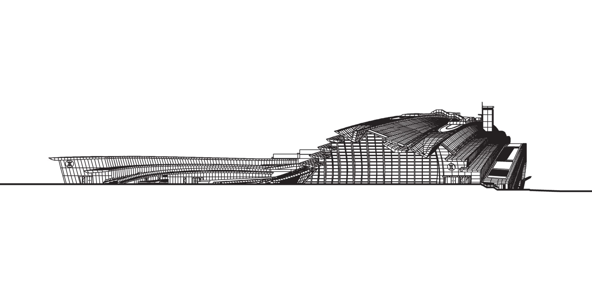 South elevation © Andrew Bromberg at Aedas
