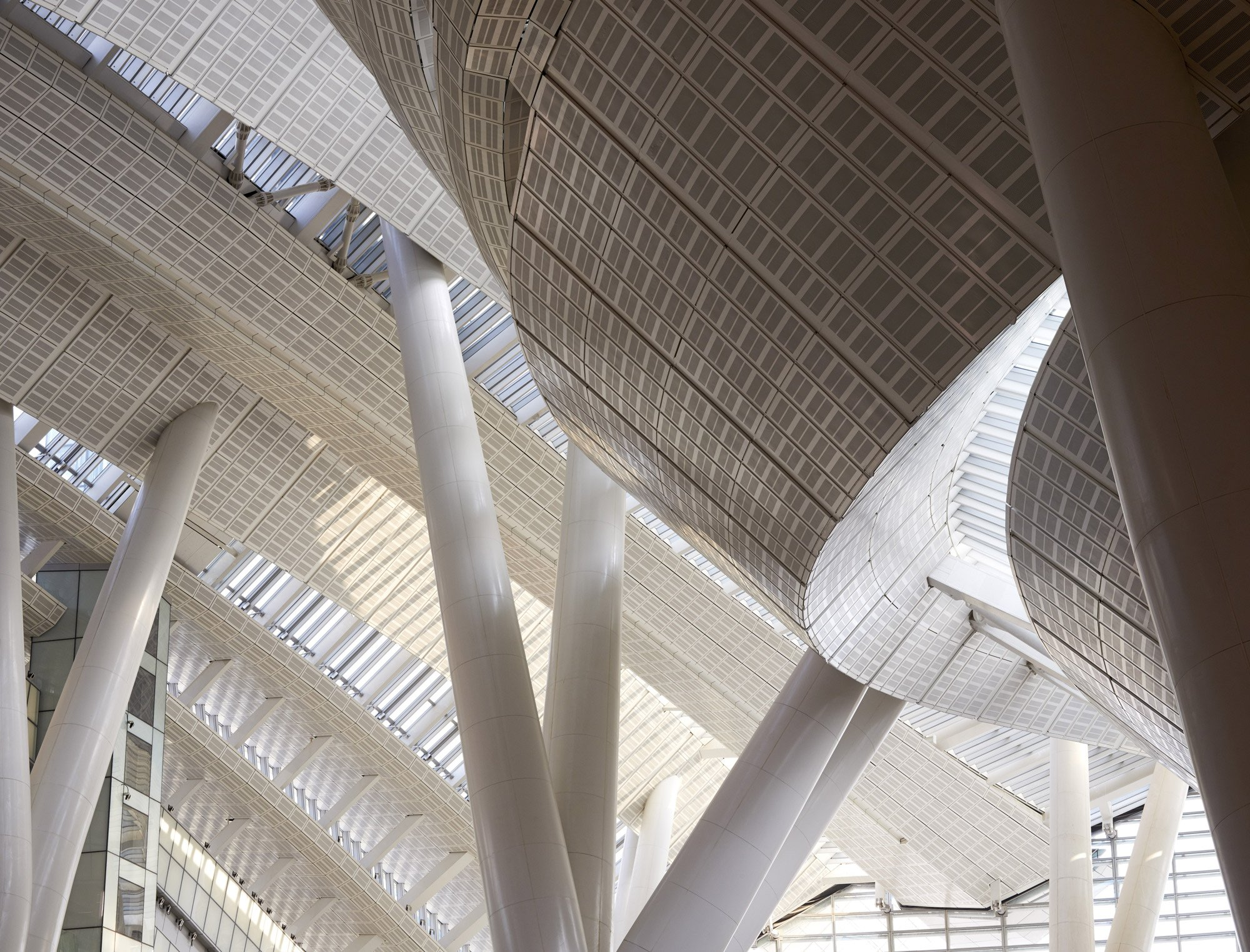 West Kowloon Station in Hong Kong