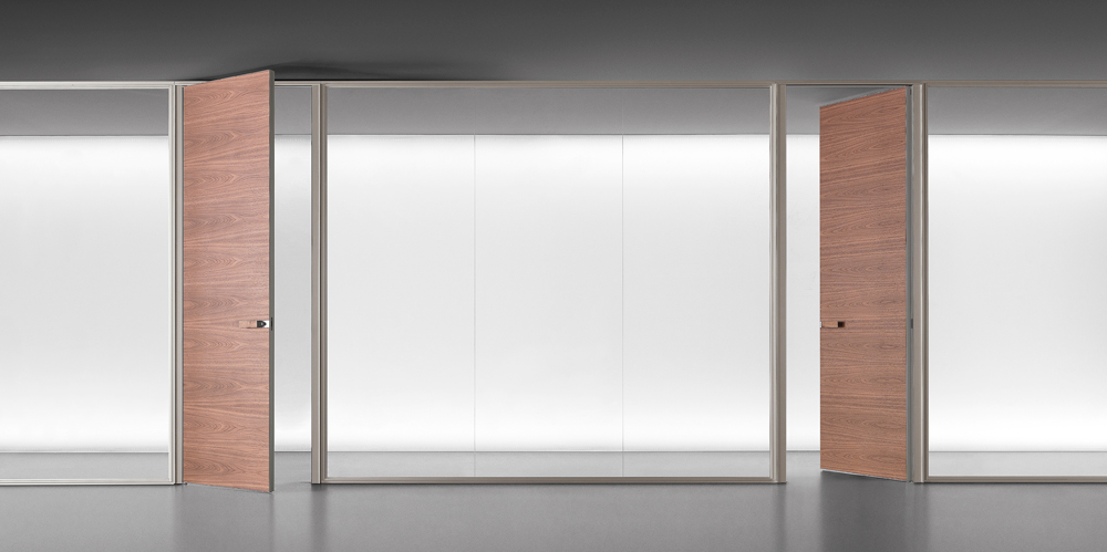Spazio wall partition system