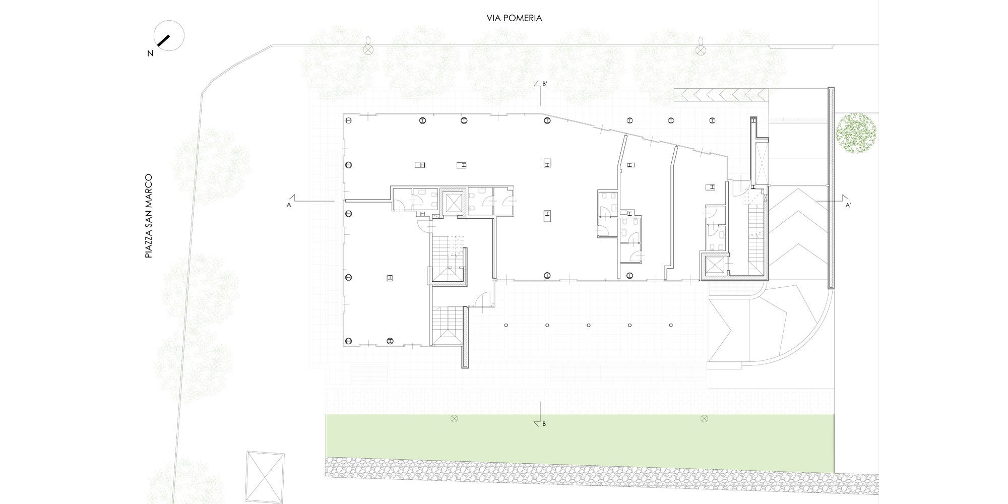Ground floor plan © Cantini&Partners