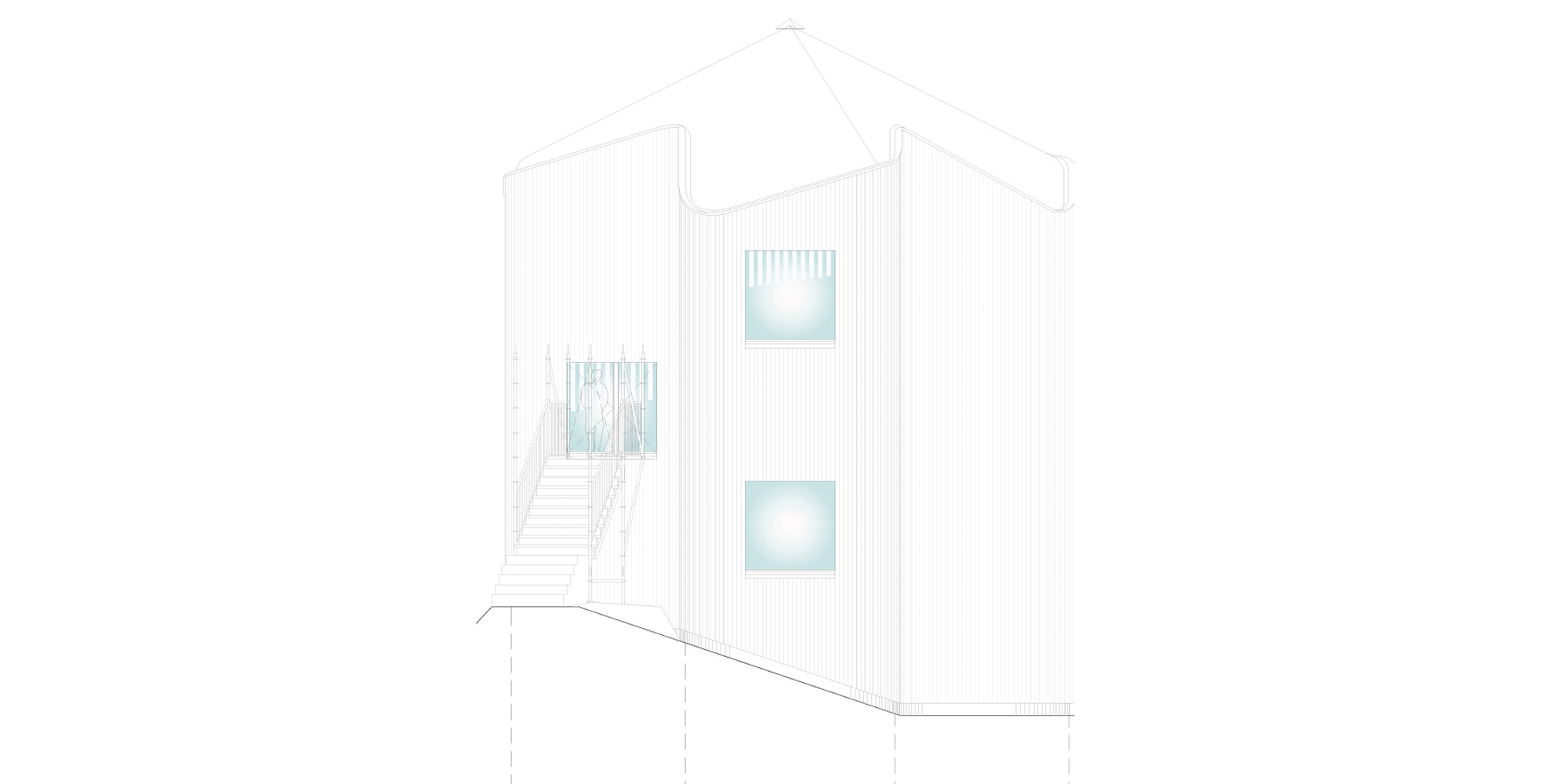 East elevation © Davide Macullo Architects