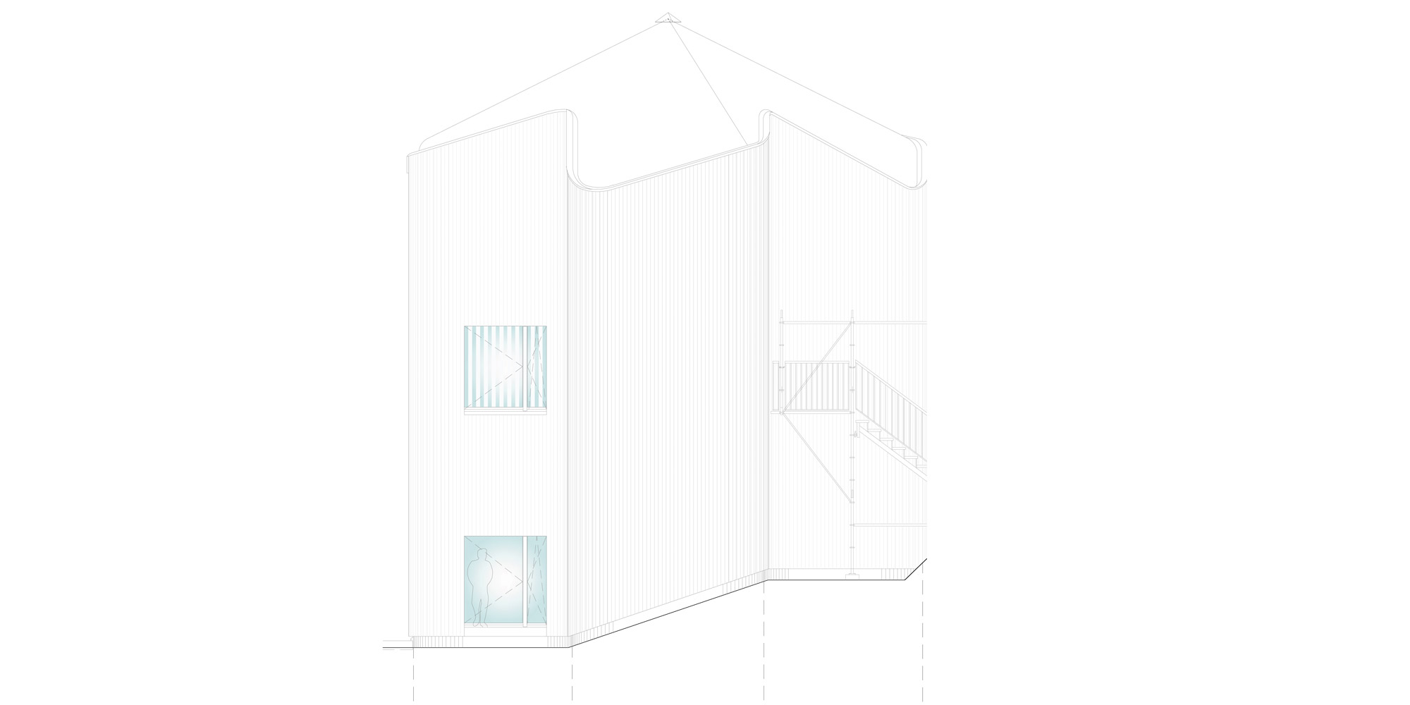 South elevation © Davide Macullo Architects
