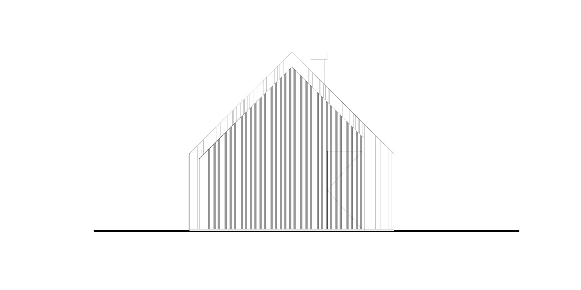 North-east elevation © 70F architecture