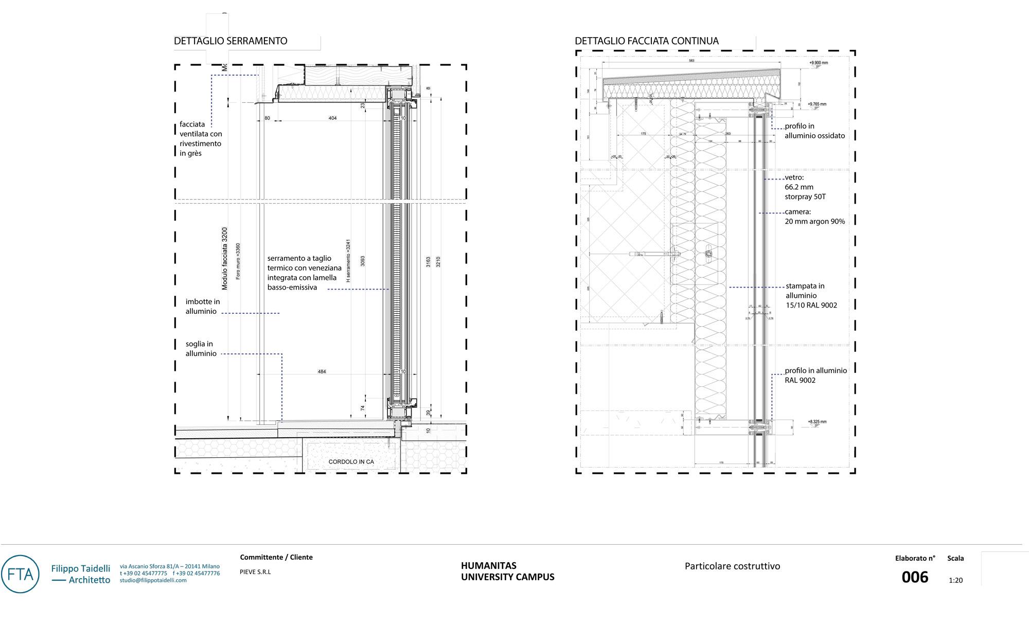 A detail © FTA - Filippo Taidelli Architetto