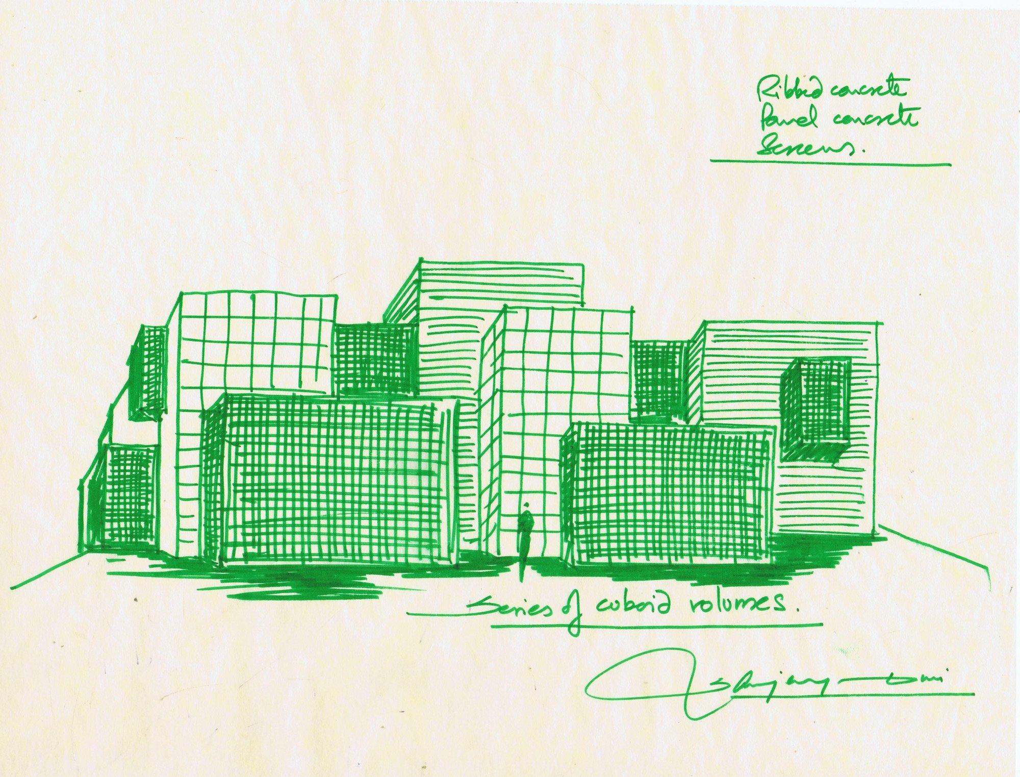 Concept © Sanjay Puri Architects