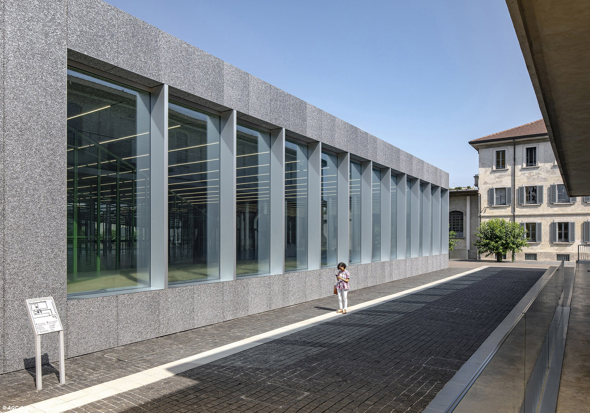 AGC for Fondazione Prada © AGC Glass Europe